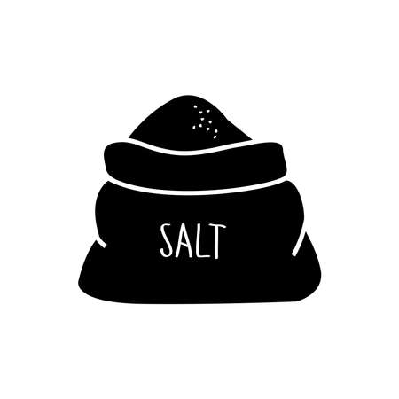 salt icon, vector illustration