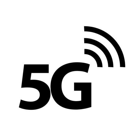 5G icon, Vector illustration