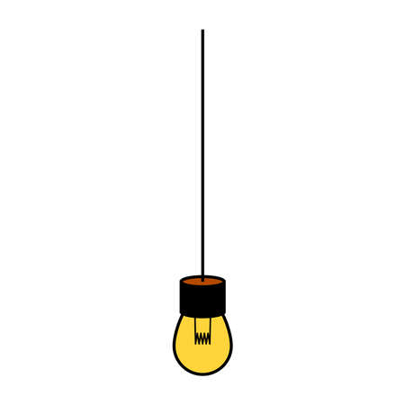 lamp icon, vector illustration. Banque d'images - 152483816
