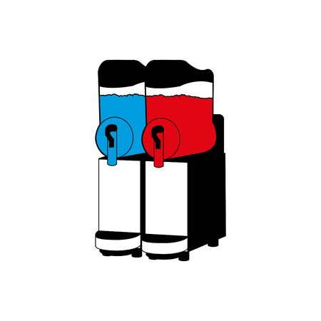 Slush Machine icon, vector illustration.