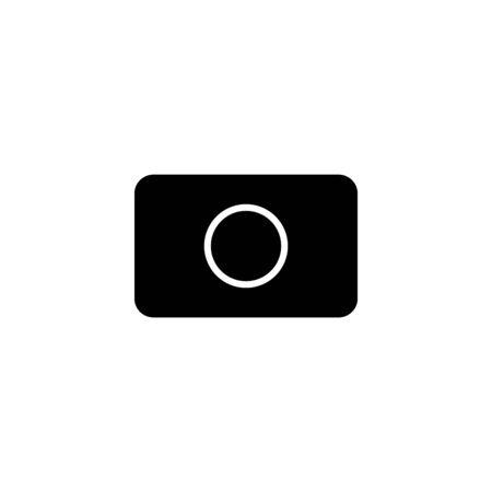 tablet dishwasher icon, vector illustration.