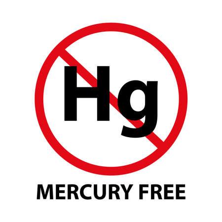 mercury free Illustration