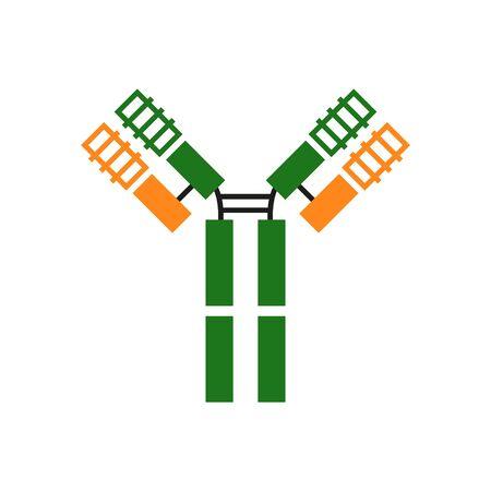Antibody icon Ilustrace