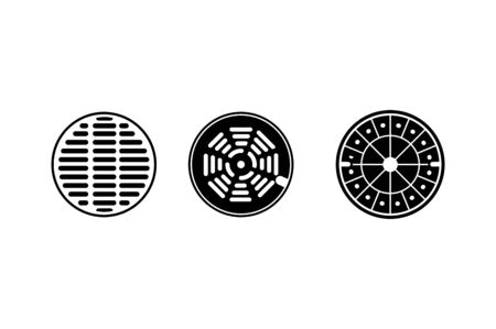 sewer icon - vector illustration