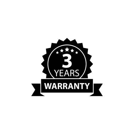 Warranty icon Vektorové ilustrace