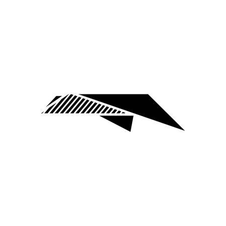 send icon, vector illustration Ilustrace