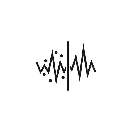 Noise Reduction icon Ilustrace