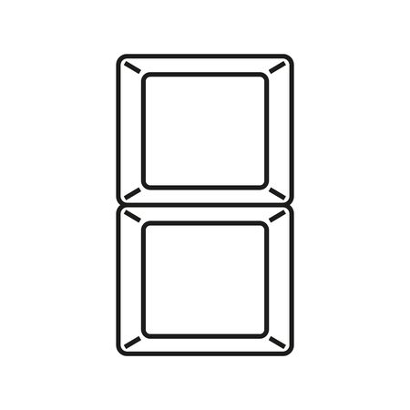 Meal Compartment Container icon
