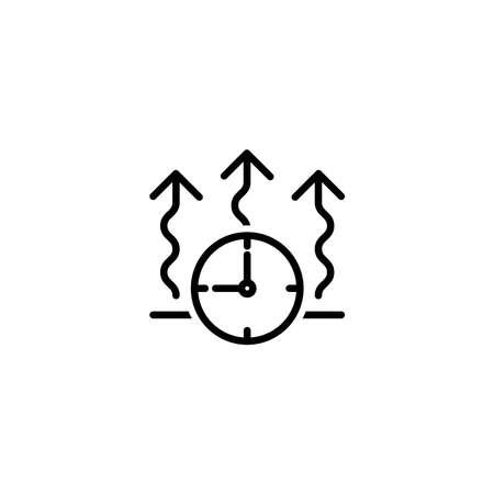 Quick drying icon, vector illustration Vetores