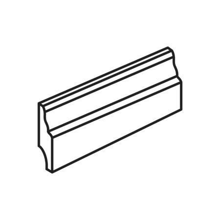 Skirting Board icon, vector illustration
