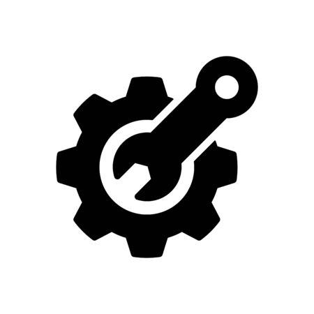 Maintain icon, vector illustration