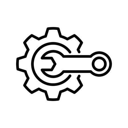 Parcel locker icon, vector illustration Çizim