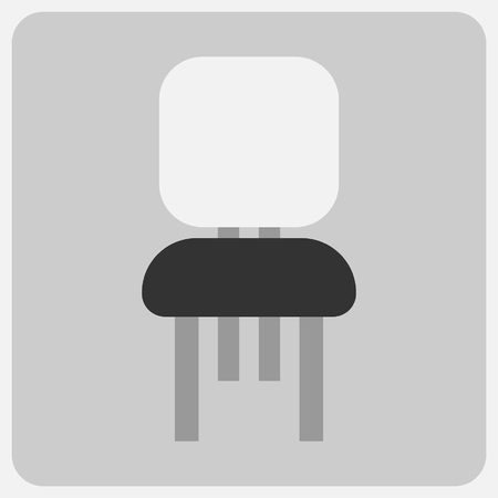 Flat icon-chair