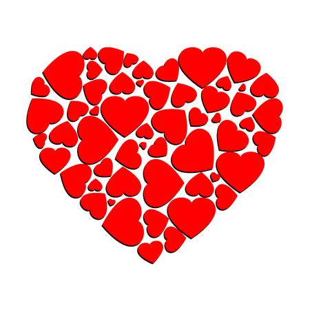 Heart vector design