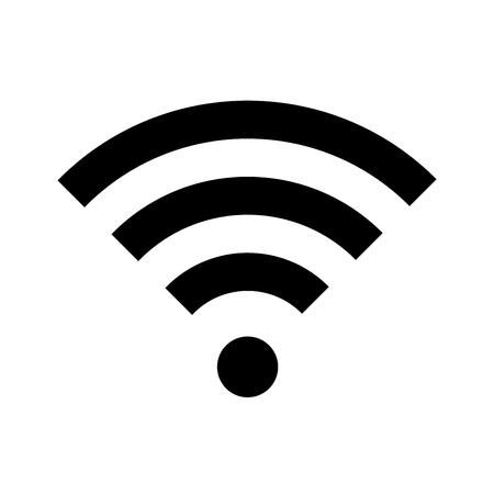 wireless: Wifi vector icon