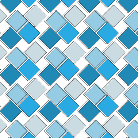 Square abstract pattern