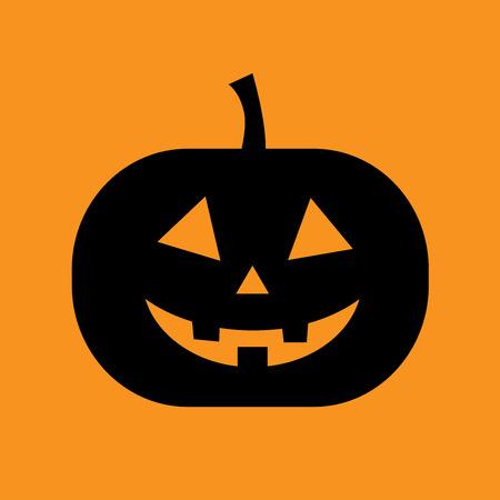 Pumpkin halloween vector isolated Illustration