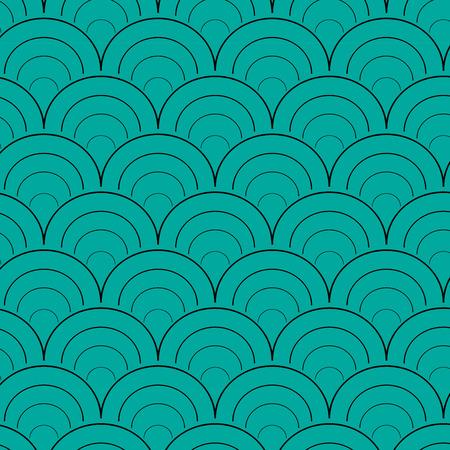 Circle pattern vector design