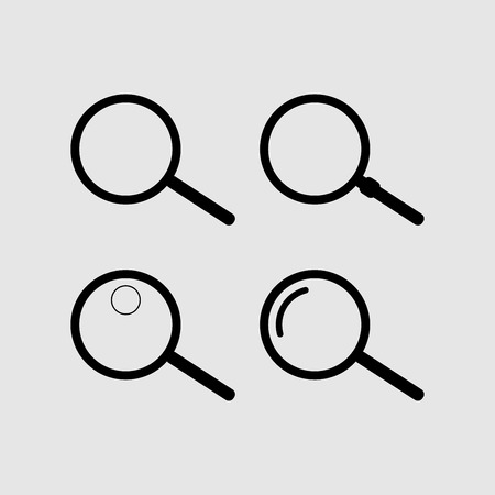 Search icon vector design Ilustração