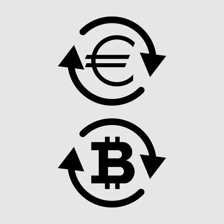 Currency exchange sign vector