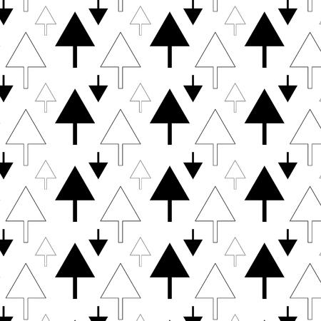 Arrow pattern art background Çizim