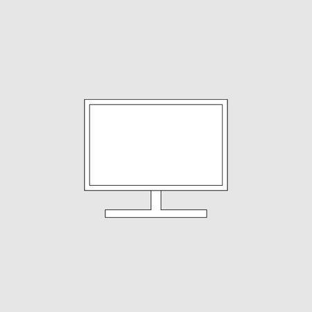 Monitor icon vector design Illustration