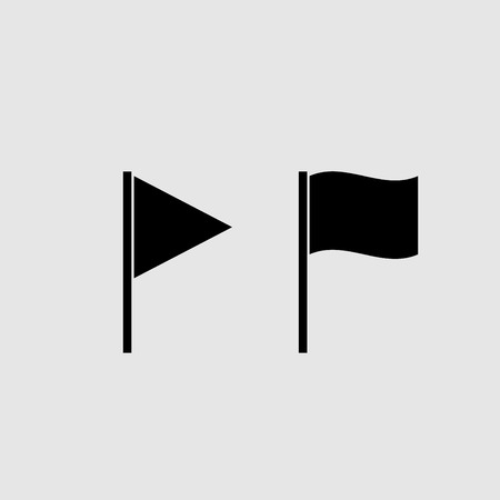 Flag icon vector design Ilustração