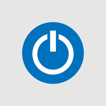 Power icon vector design Ilustração