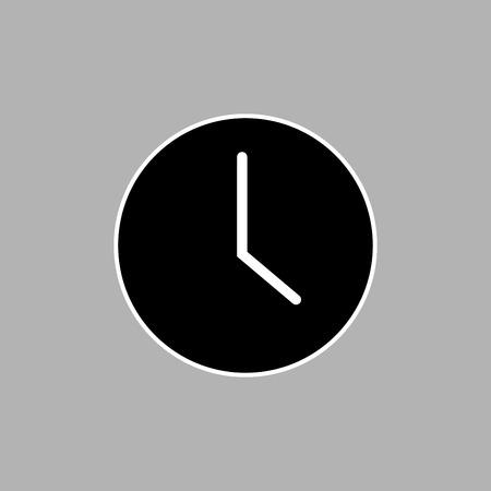 Time icons vector design Ilustração
