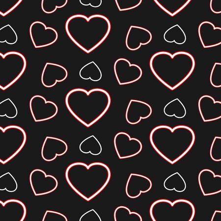 Heart Pattern vector design Ilustração