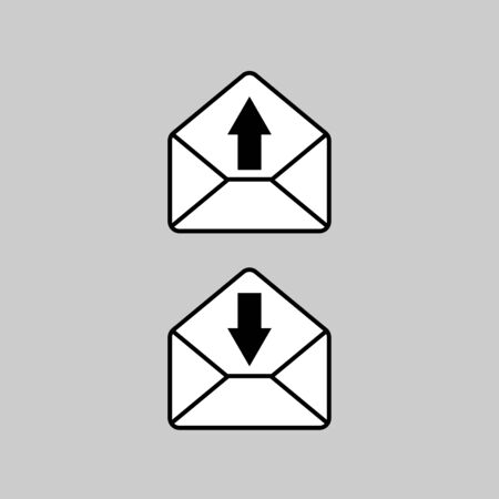 Mail icon vector art