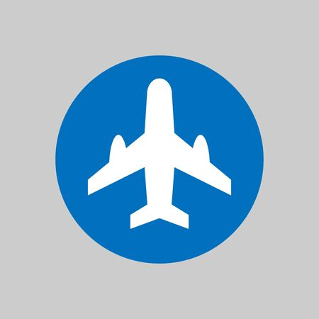 Plane icon art vector design