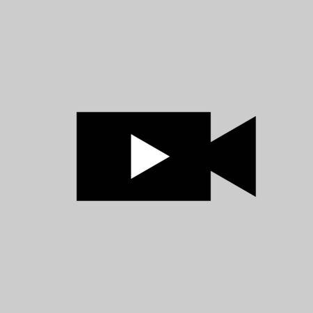 Video Camera vector design isolated Ilustração