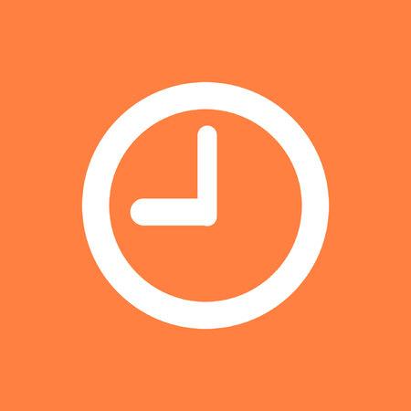 cronometro: clock icon stock vector illustration flat design