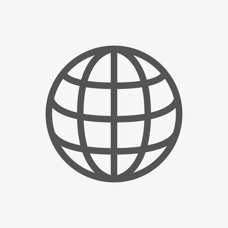 design plat d'icône web design plat d'illustration vectorielle Vecteurs