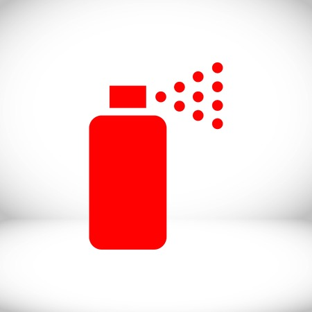 compressed air: spray icon stock vector illustration flat design