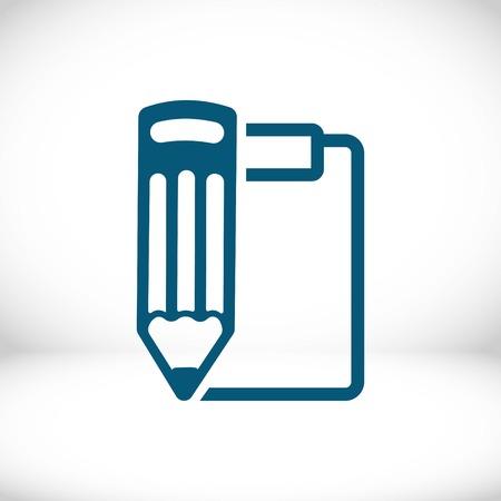 checklist  icon stock vector illustration flat design Illustration