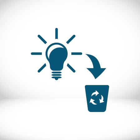 green cross: bad idea icon stock vector illustration flat design
