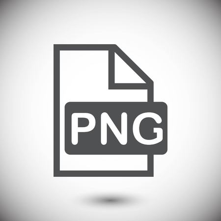 png: PNG icon stock vector illustration flat design