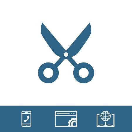 clip art cost: cut icon stock vector illustration flat design