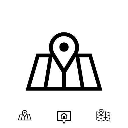 navigator: navigation icon stock vector illustration flat design