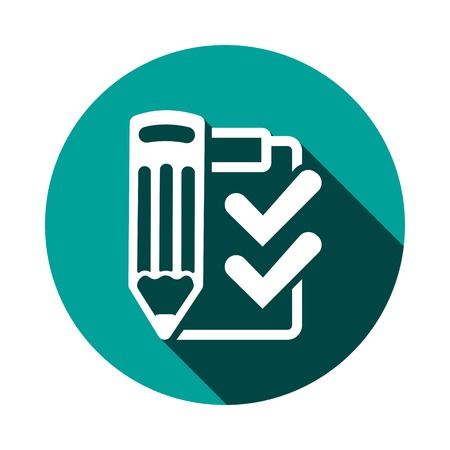 checklist  icon stock vector illustration flat design Illustration