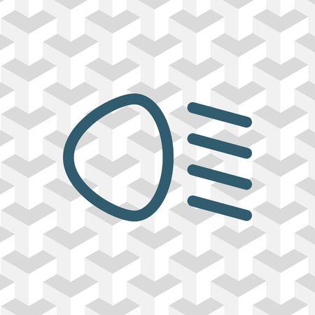 icône de bas de faisceau illustration vectorielle design plat