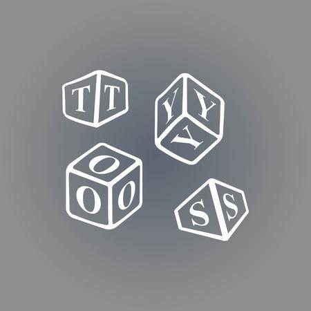 cute bear: icon stock vector illustration flat design style Illustration