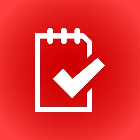 liste icône stocks illustration vectorielle design plat