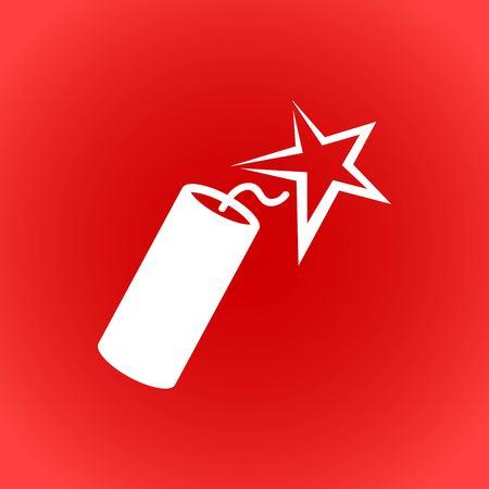 dynamite icon stock vector illustration flat design