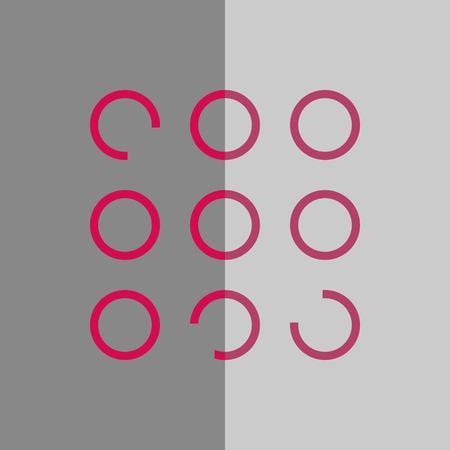 icon stock vector illustration flat design style Ilustração