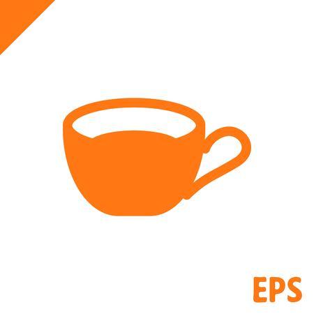 coffee beans: icon stock vector illustration flat design style Illustration