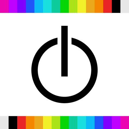 switch icon stock vector illustration flat design Illustration
