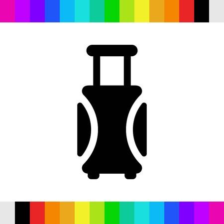 Icon stock vector illustration style de conception plate. Vecteurs